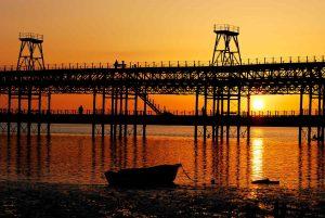Muelle del Rio tinto en Huelva