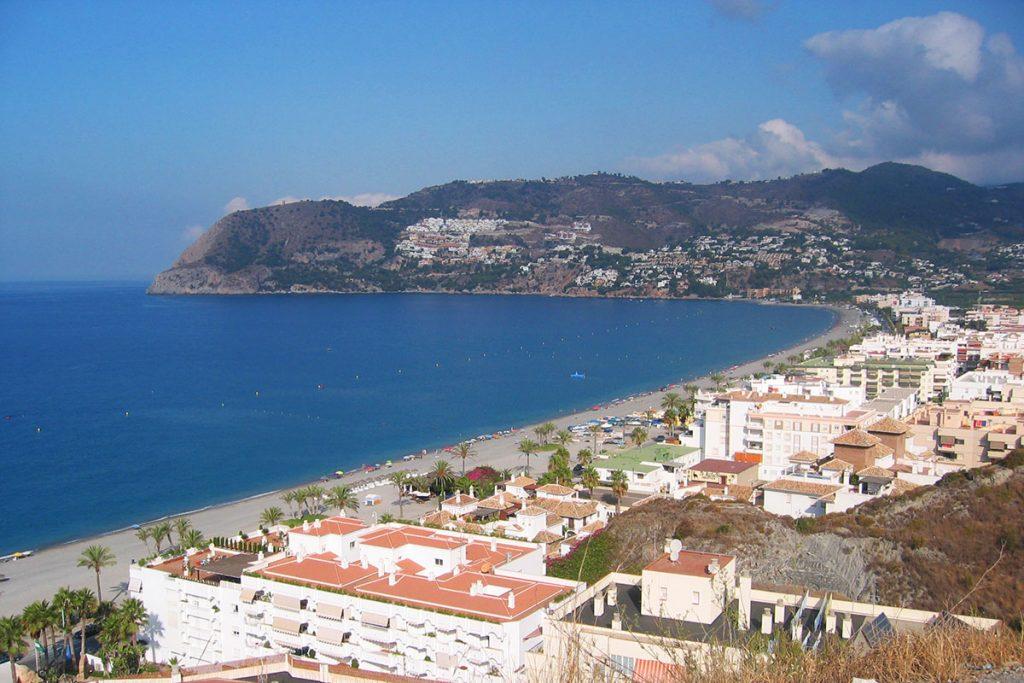 Playas de Andalucia la Herradura
