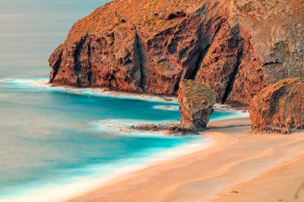 Playa para snorkel y buceo Cabo de Gata