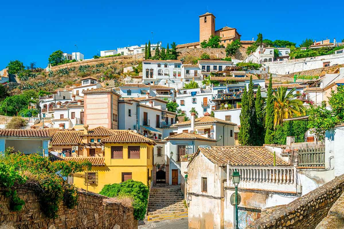 Barrio del Albaicín Granada