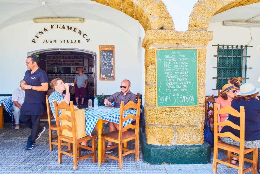 Comer en Cádiz