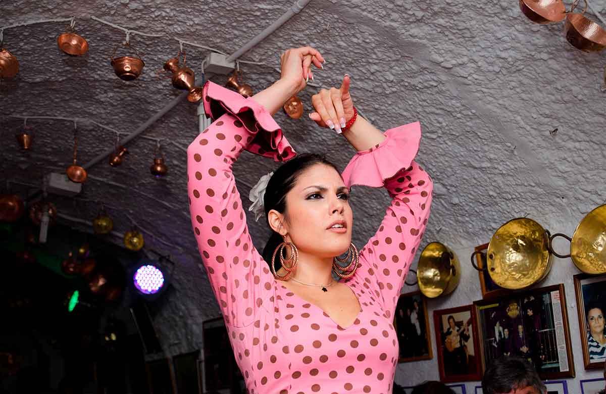Flamenco en Cuevas del Sacromonte
