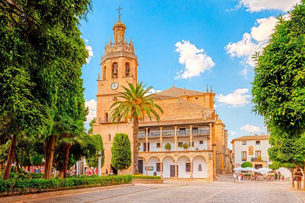 Plaza de la Duquesa de Parcent Ronda
