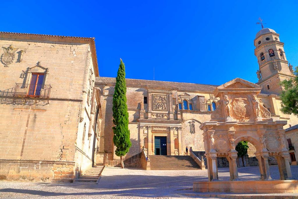 Plaza Santa Maria de Baeza