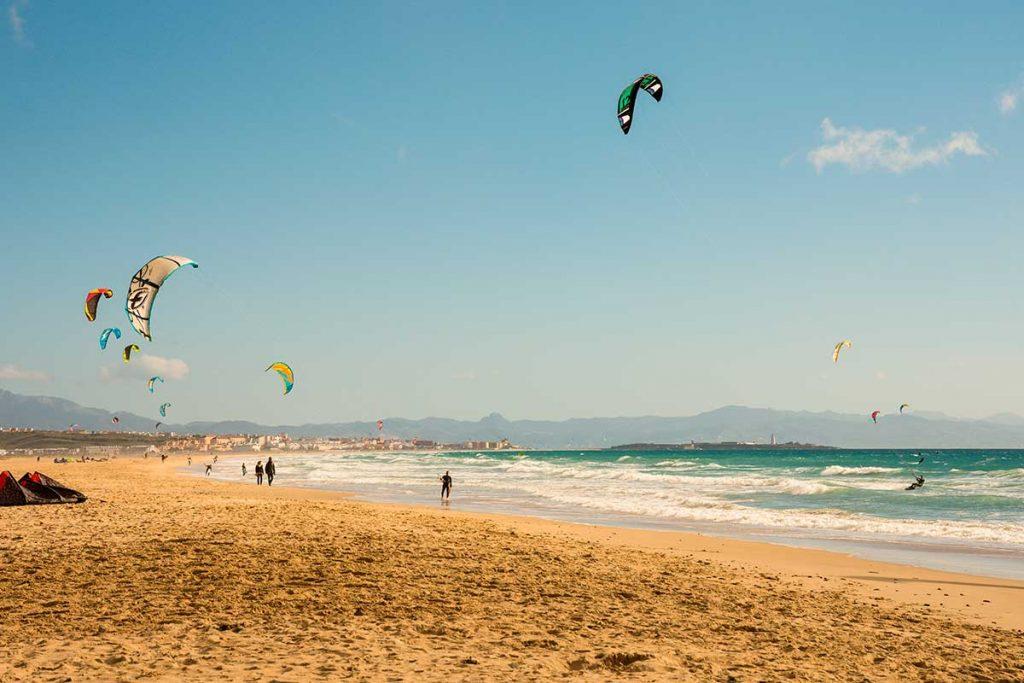 Kitesurf en Tárifa, Cádiz