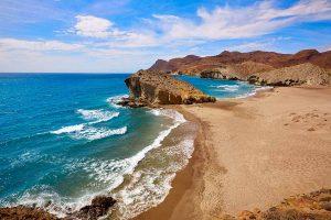 Playa del Monsul en Cabo de Gata