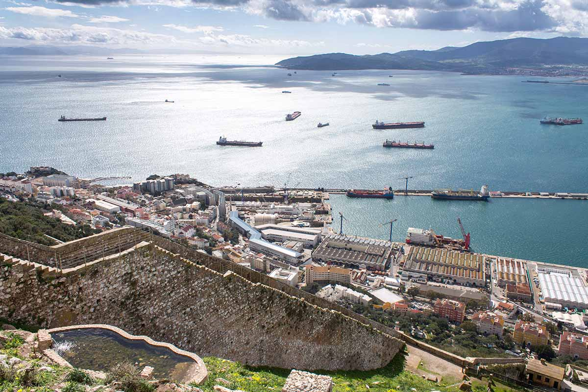 Posición estratégica de Gibraltar