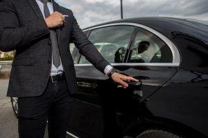 Transporte privado con conductor de lujo